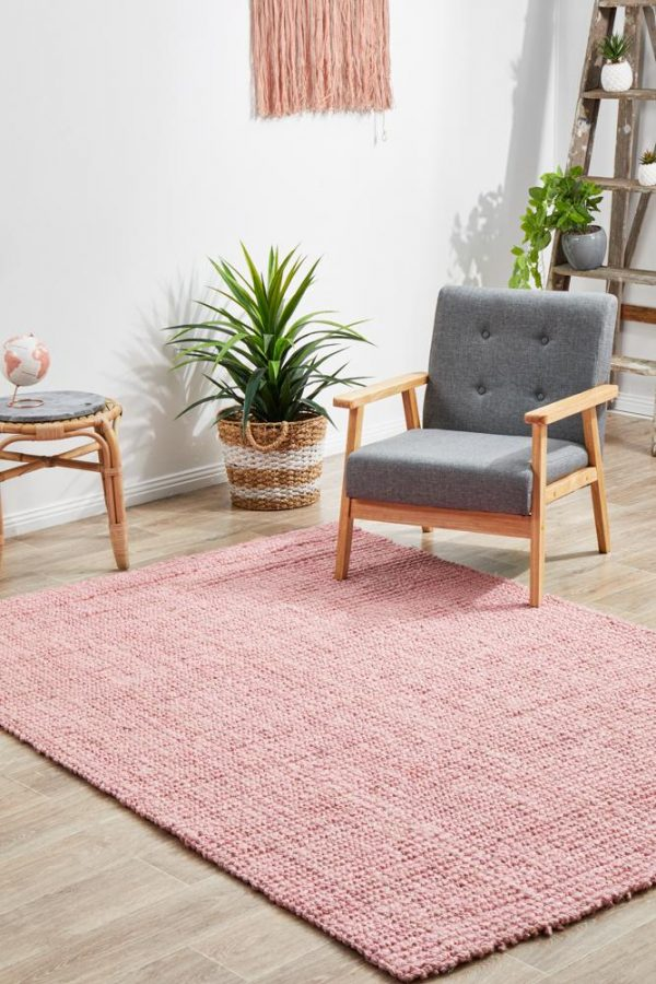 Bohemian Pink Rug - The Flooring Guys