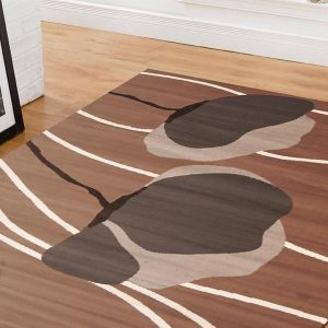 BCF-1589-N33 Modern Brown Rug - The Flooring Guys