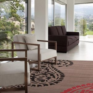 BCF-1639-W55 Modern Grey Rug - The Flooring Guys