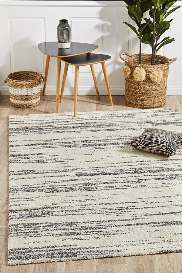 BRD-933-CHAR Contemporary Charcoal Rug - The Flooring Guys