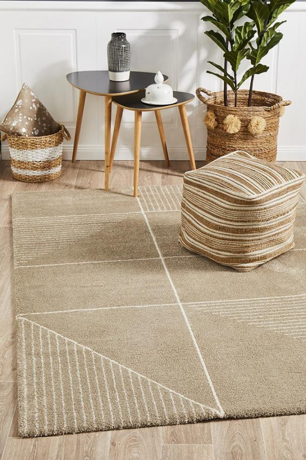BRD-935-NAT Contemporary Natural Rug - The Flooring Guys