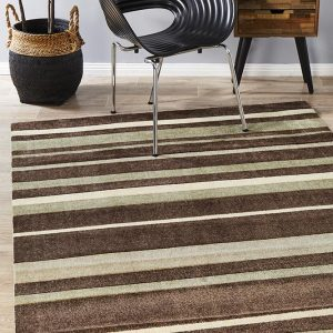 CIT-554-BRO Modern Brown Rug - The Flooring Guys