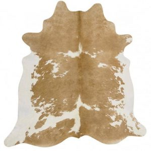COWHIDE-NAT-BEIGEW Cowhide Beige Rug - The Flooring Guys
