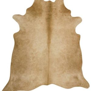 COWHIDE-NAT-BEIGE Cowhide Beige Rug - The Flooring Guys