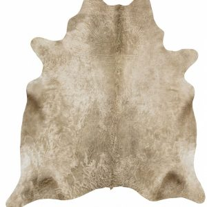 COWHIDE-NAT-CHAMP Cowhide Brown Rug - The Flooring Guys
