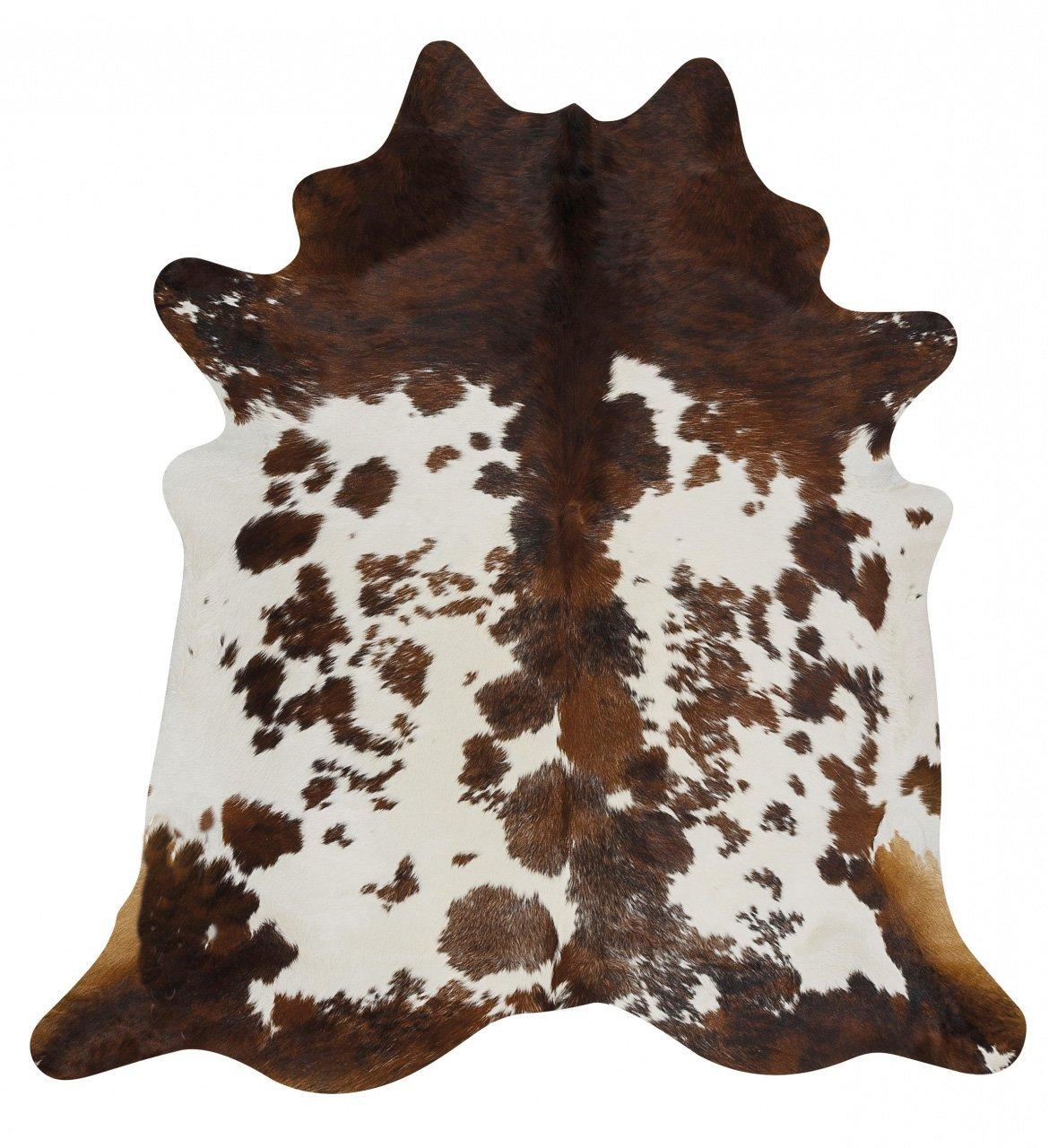 Exquisite Natural Cow Hide Zebra Print Rug
