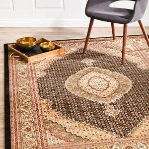 EMP-ARK-BLA Traditional Multi Rug - The Flooring Guys