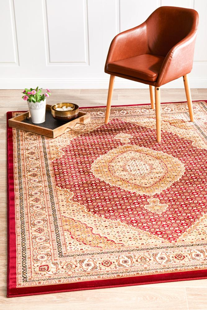 EMP-ARK-RED Traditional Multi Rug - The Flooring Guys