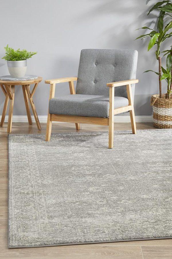 EVO-252-GREY Modern Grey Rug - The Flooring Guys