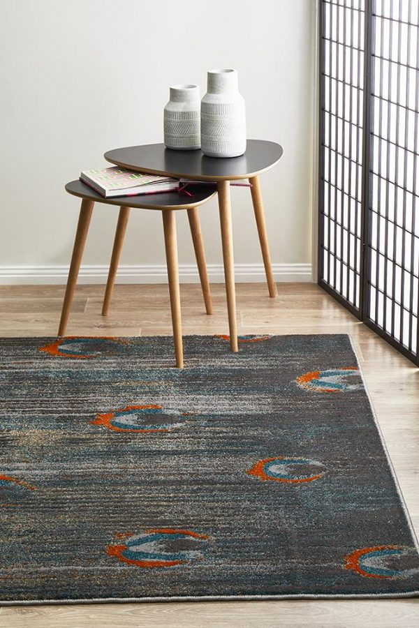 HAR-902-TAUP Modern Grey Rug - The Flooring Guys