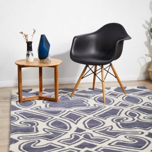 HV-641-SLATE Modern Slate Rug - The Flooring Guys