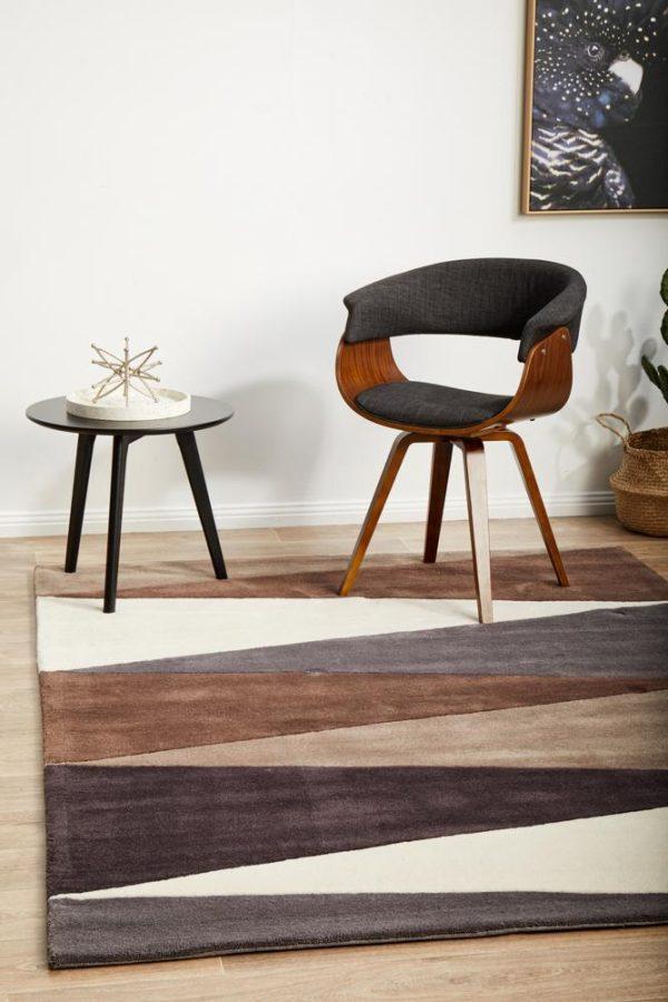 HV-645-BEIGE Modern Beige Rug - The Flooring Guys