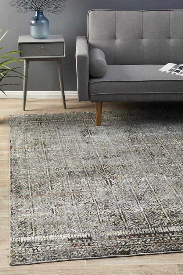 JEZ-158-GREY Modern Grey Rug - The Flooring Guys