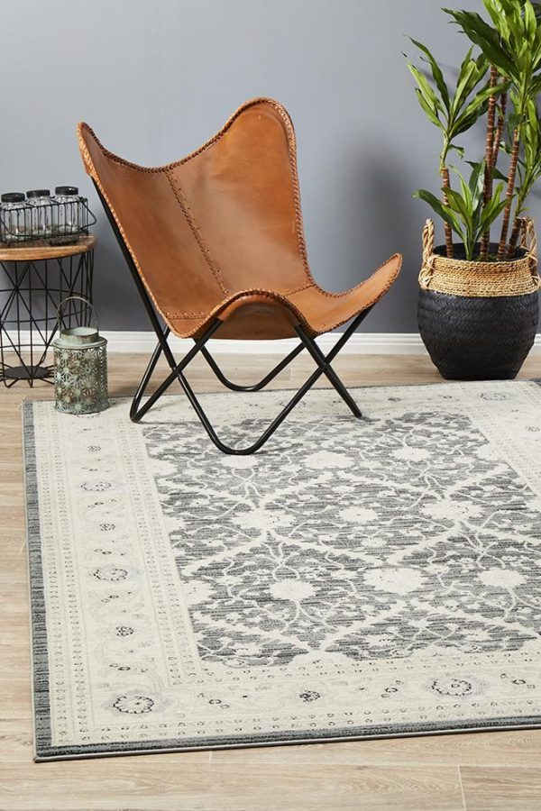 JWL-800-NAVY Traditional Navy Rug - The Flooring Guys