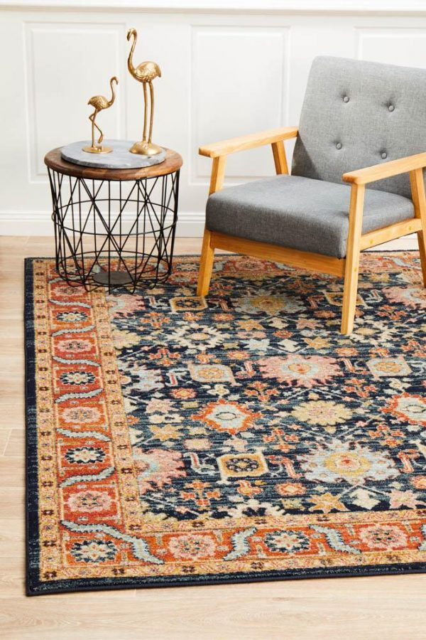 LEG-860-NAVY Modern Multi Rug - The Flooring Guys