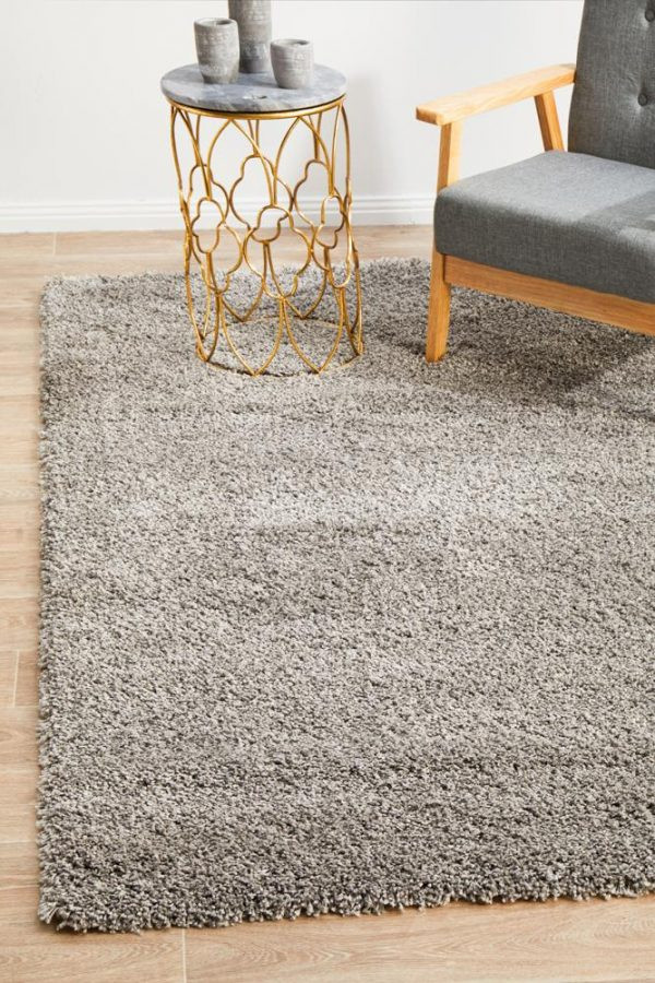 LGN-SILVER Contemporary Silver Rug - The Flooring Guys