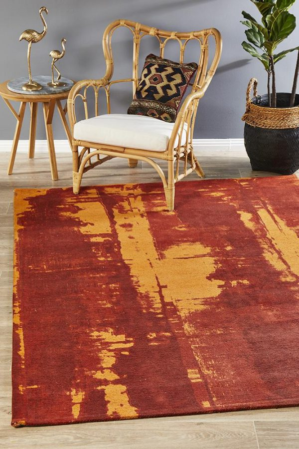 MGN-11-PAP Other Red Rug - The Flooring Guys