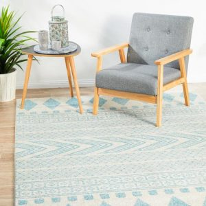 MIR-359-SKY Modern Sky Rug - The Flooring Guys
