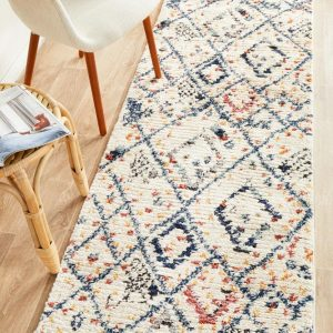 MKS-111-WHT-RU Contemporary Multi Rug - The Flooring Guys