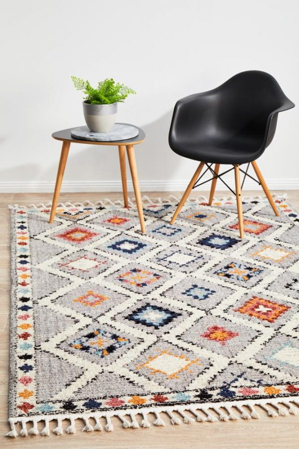 MKS-555-GRY Contemporary Multi Rug - The Flooring Guys