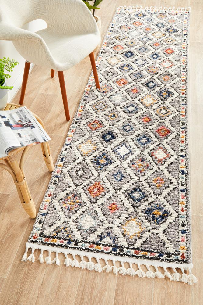 MKS-555-GRY-RU Contemporary Multi Rug - The Flooring Guys