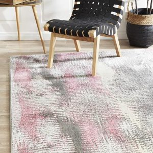 NIT-952-PINK Modern Pink Rug - The Flooring Guys