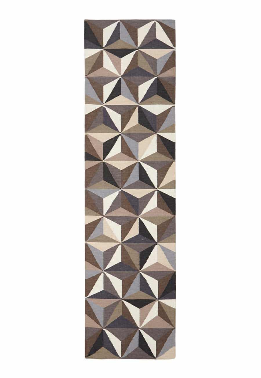 NOM-31-GREY-RU Flat Weave Grey Rug - The Flooring Guys