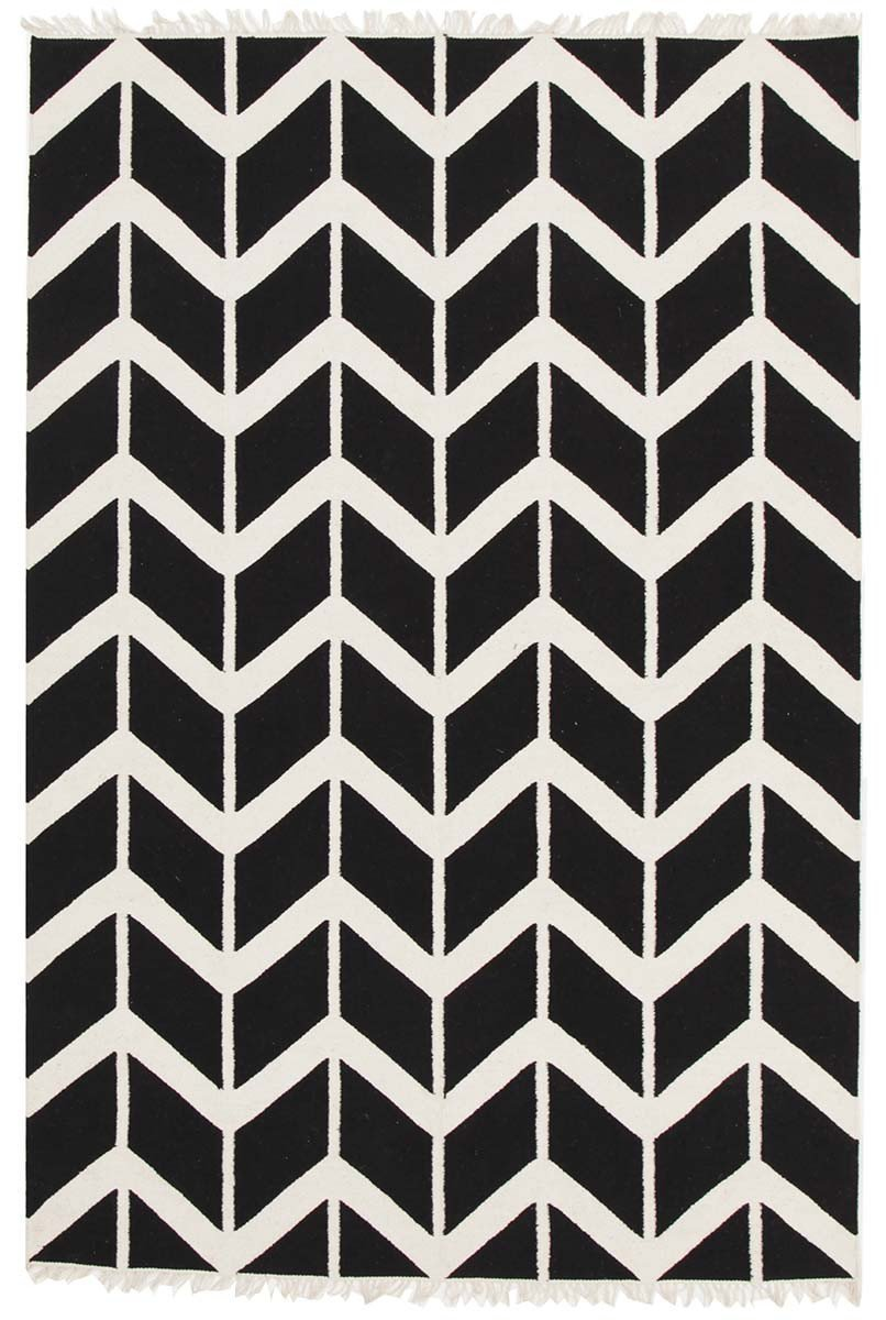 PRO-CARN-BLA Modern Black Rug - The Flooring Guys