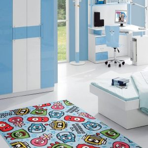 YGG-6-BLUE-150X100 Kids Multi Rug - The Flooring Guys